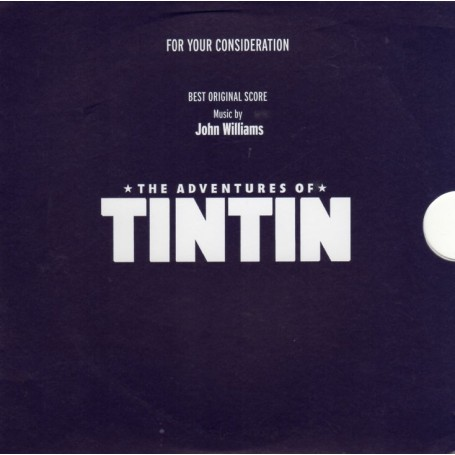 THE ADVENTURES OF TINTIN (FOR YOUR CONSIDERATION)
