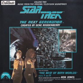 STAR TREK: THE NEXT GENERATION: THE BEST OF BOTH WORLDS PARTS I AND II