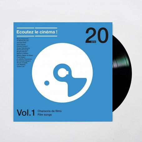 ÉCOUTEZ LE CINÉMA ! 20 ANS - VOLUME 1: CHANSONS DE FILMS (LP)