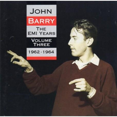 JOHN BARRY : THE EMI YEARS (1962-1964) – VOLUME THREE