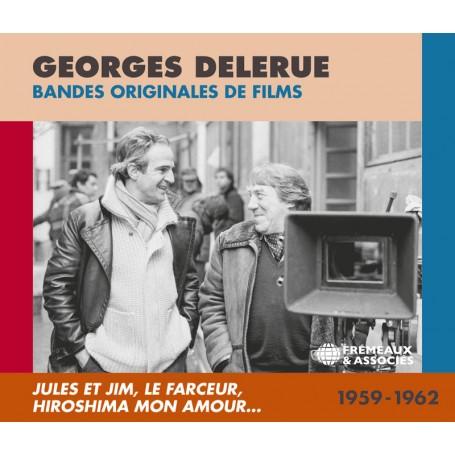 GEORGES DELERUE : BANDES ORIGINALES DE FILMS 1959 - 1962