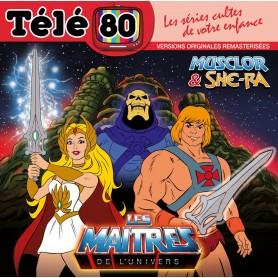 LES MAÎTRES DE L'UNIVERS: MUSCLOR & SHE-RA