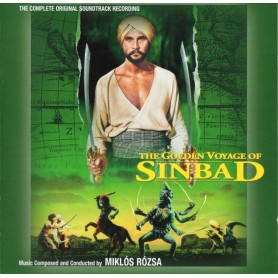 THE GOLDEN VOYAGE OF SINBAD (COMPLETE ORIGINAL SOUNDTRACK RECORDING)