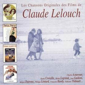 LES CHANSONS ORIGINALES DES FILMS DE CLAUDE LELOUCH