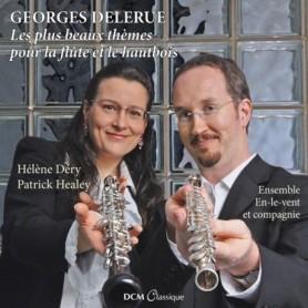 LES PLUS BEAUX THÈMES POUR LA FLÛTE ET LE HAUTBOIS (GEORGES DELERUE)