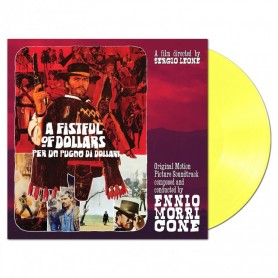 A FISTFUL OF DOLLARS (CLEAR YELLOW LP)