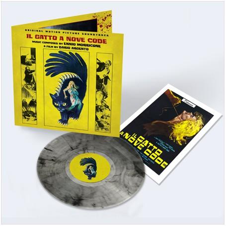 IL GATTO A NOVE CODE (50th ANNIVERSARY BLACK CAT SMOKE LP)
