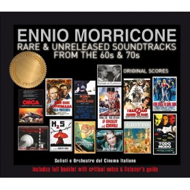 ENNIO MORRICONE RARE & UNRELEASED SOUNDTRACKS FROM THE 60s & 70s