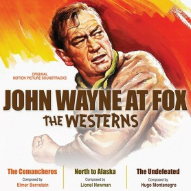 JOHN WAYNE AT FOX – THE WESTERNS (THE COMANCHEROS, NORTH TO ALASKA, THE UNDEFEATED)