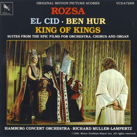 EL CID / BEN HUR / KING OF KINGS