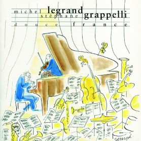 MICHEL LEGRAND STÉPHANE GRAPPELLI: DOUCE FRANCE