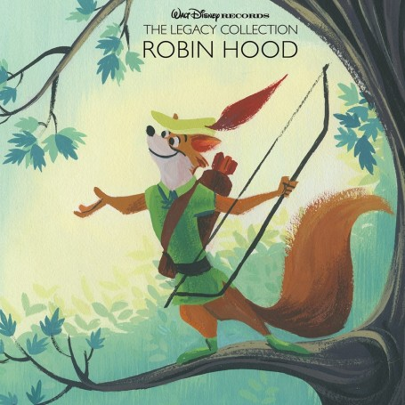Robin Hood Disney Legacy Collection Cd