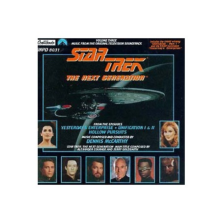 STAR TREK: THE NEXT GENERATION: YESTERDAY'S ENTERPRISE / UNIFICATI