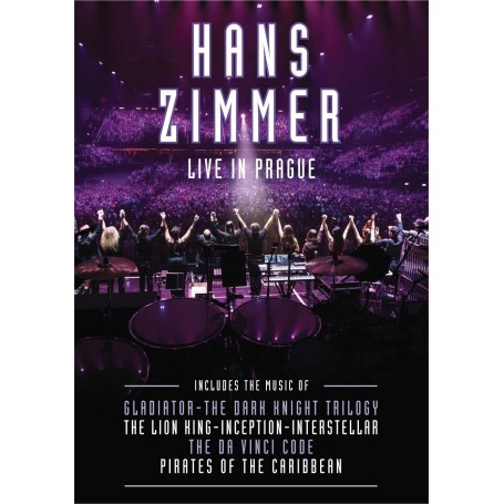 HANS ZIMMER: LIVE IN PRAGUE (DVD)