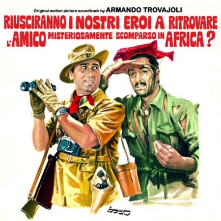 RIUSCIRANNO I NOSTRI EROI A RITROVARE L'AMICO MISTERIOSAMENTE SCOMPARSO IN AFRICA