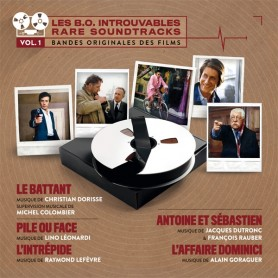 LES B.O. INTROUVABLES (RARE SOUNDTRACKS) - VOLUME 1 (LIMITED TO ONE COPY PER CUSTOMER)
