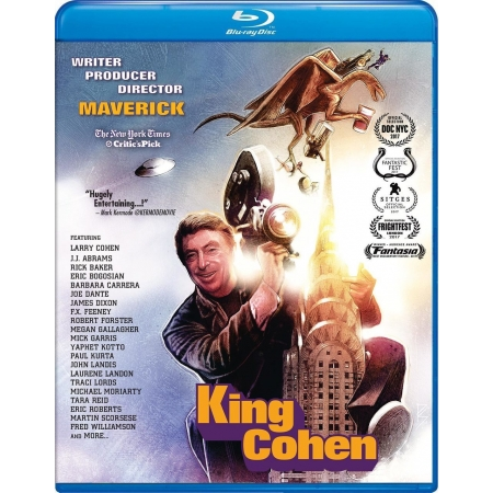 KING COHEN (BLU-RAY FILM / CD SOUNDTRACK COMBO)