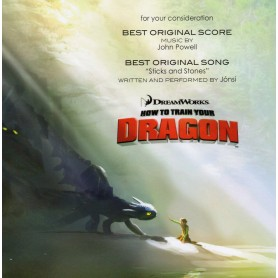 HOW TO TRAIN YOUR DRAGON (FOR YOUR CONSIDERATION)