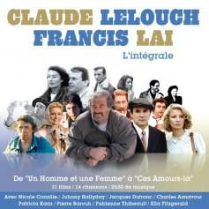 CLAUDE LELOUCH & FRANCIS LAI : L'INTÉGRALE