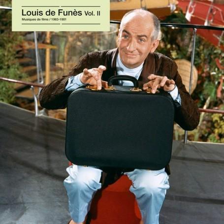 LOUIS DE FUNÈS: MUSIQUES DE FILMS VOLUME 2 (1963-1981) (LP)