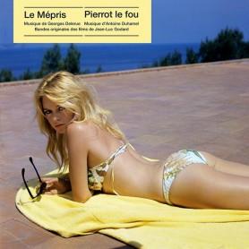 LE MÉPRIS / PIERROT LE FOU (LP)