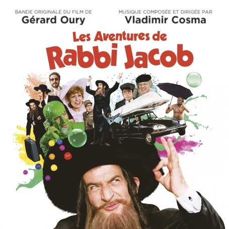 LES AVENTURES DE RABBI JACOP (LP)