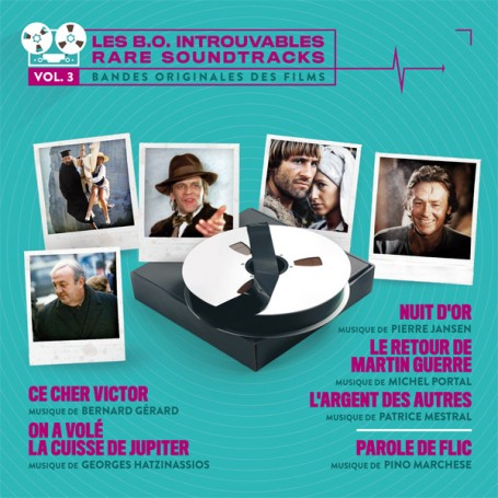 LES B.O. INTROUVABLES (RARE SOUNDTRACKS) - VOLUME 3