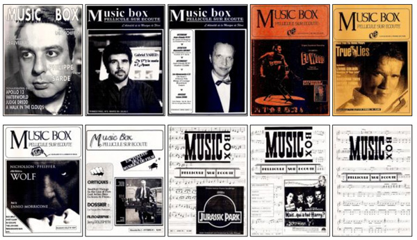 Music Box Soundtrack Fanzine